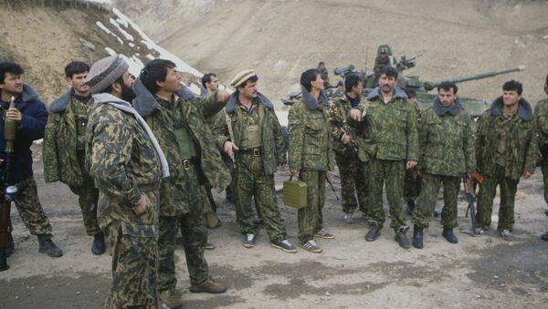 Гражданская война в Таджикистане, архивное фото - Sputnik Таджикистан