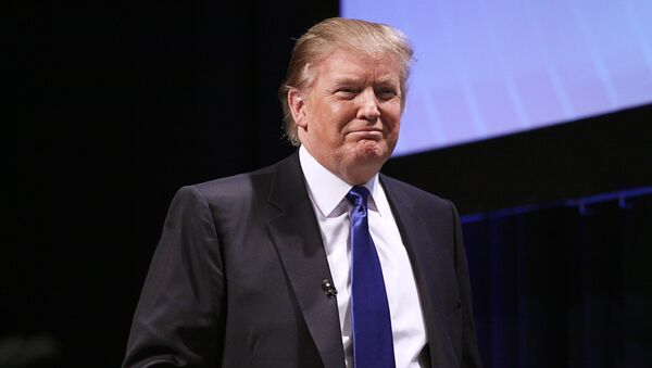 Президент Америки Дональд Трамп, архивное фото - Sputnik Тоҷикистон