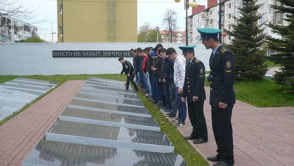 Таджики провели вахту памяти в Калининграде - Sputnik Таджикистан