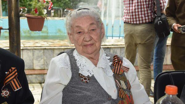 Ветеран Великой Отечественной войны, Леокадия Ковтун, Душанбе - Sputnik Таджикистан
