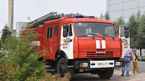 Пожарная машина - Sputnik Таджикистан