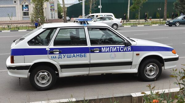Автомобиль милиции, архивное фото - Sputnik Тоҷикистон