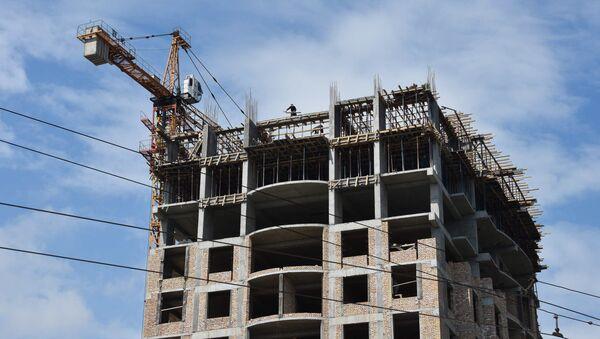 Строительство нового дома в Душанбе - Sputnik Таджикистан