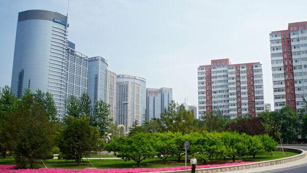 На одной из улиц города Пекина, архивное фото - Sputnik Таджикистан