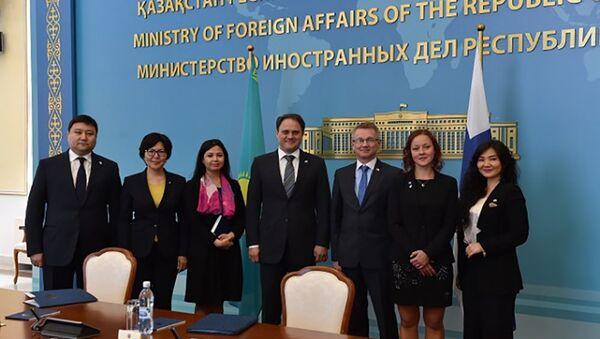 Казахстан и Финляндия отметили 25-ю годовщину установления дипломатических отношений - Sputnik Таджикистан