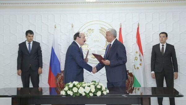 Подписано Соглашение между Дагестаном и Согдийской областью Республики Таджикистан - Sputnik Тоҷикистон