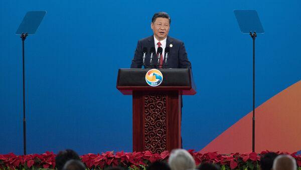 Председатель Китайской Народной Республики Си Цзиньпин - Sputnik Таджикистан