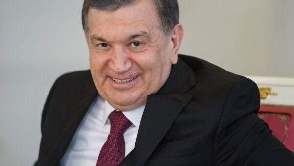 Президент Узбекистана Ш. Мирзиеев - Sputnik Таджикистан