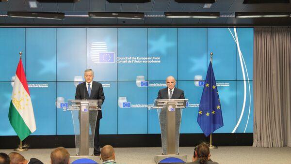 Шестое заседание Совета по сотрудничеству между Республикой Таджикистан и Европейским Союзом - Sputnik Тоҷикистон