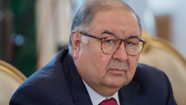 Алишер Усманов, архивное фото - Sputnik Таджикистан