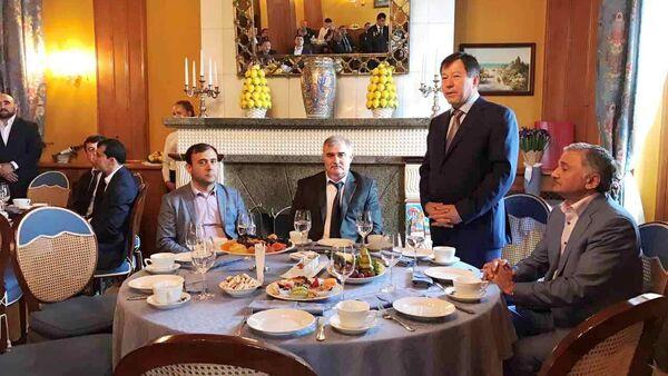 Министр внутренних дел Таджикистана Рахимзода Рамазон в Сочи - Sputnik Таджикистан