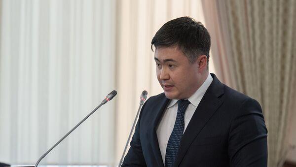 Министр национальной экономики Казахстана Тимур Сулейменов - Sputnik Тоҷикистон
