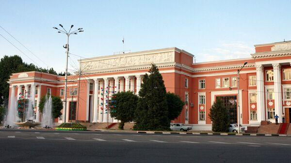 Здание парламента Республики Таджикистан - Sputnik Тоҷикистон