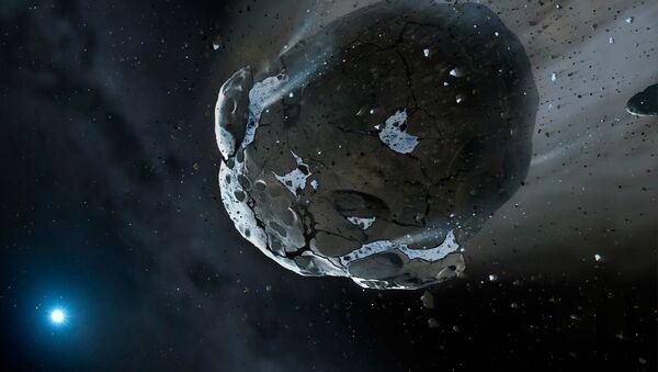Иллюстрация астероида  - Sputnik Таджикистан