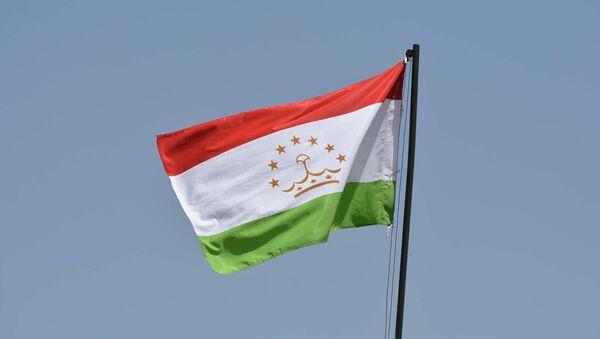 Флаг Таджикистана, архивное фото - Sputnik Тоҷикистон