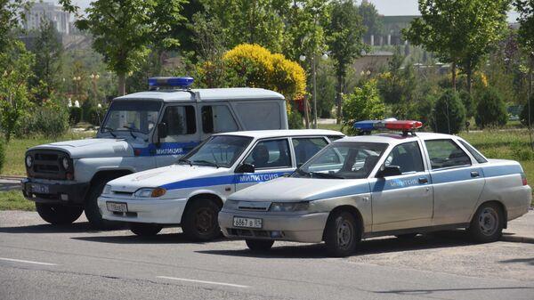 Машины милиции в Душанбе, архивное фото - Sputnik Тоҷикистон