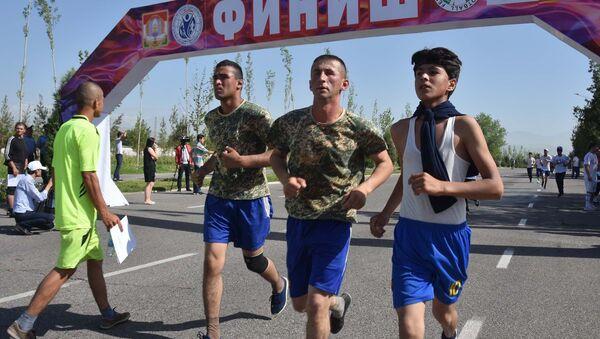 Национальный день бега в Душанбе - Sputnik Таджикистан