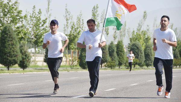 День бега в Душанбе, архивное фото - Sputnik Таджикистан