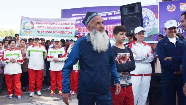 Национальный день бега в Душанбе - Sputnik Тоҷикистон