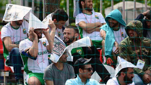 Летний турнир по футболу среди памирских таджиков в Москве - Sputnik Таджикистан