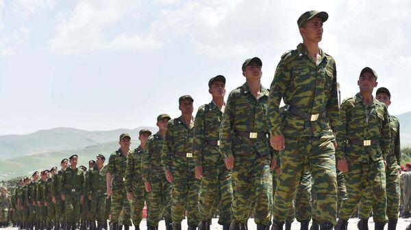 Военнослужащие, архивное фото - Sputnik Таджикистан