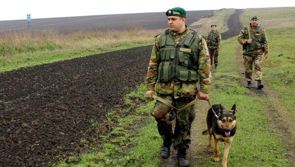 Украинские пограничники, архивное фото - Sputnik Тоҷикистон