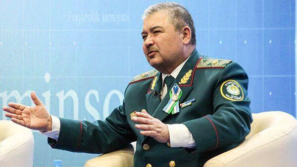 Министр внутренних дел Узбекистана Абдусалом Азизов, архивное фото - Sputnik Тоҷикистон