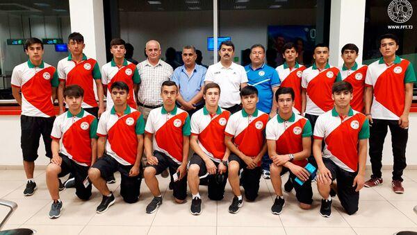 Национальная юношеская сборная Таджикистана, архивное фото - Sputnik Тоҷикистон