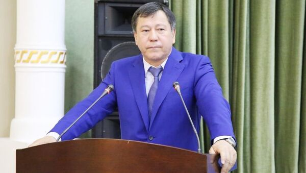 Рамазон Рахимзода - министр внутренних дел Таджикистана - Sputnik Таджикистан