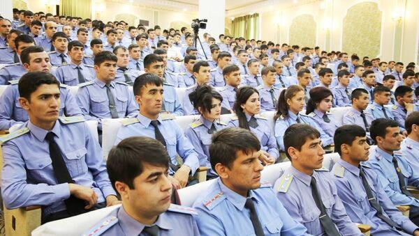 Курсанты министерства внутренних дел, архивное фото - Sputnik Таджикистан