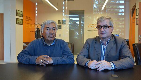 Адахан Хасанов и Артур Адлейба - Sputnik Таджикистан