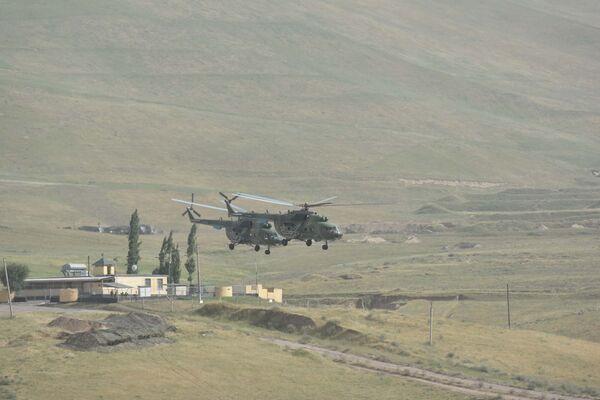 Учения Антитеррор 2017 в Таджикистане на полигоне Ляур - Sputnik Таджикистан