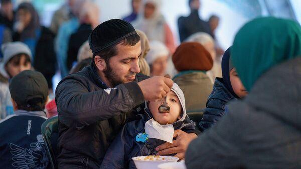 Празднование Рамадана в Москве, архивное фото - Sputnik Таджикистан