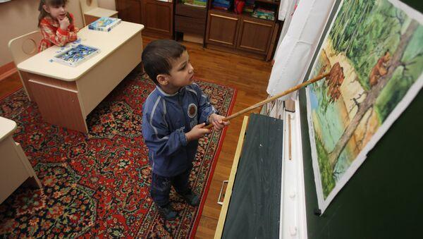 детский сад, архивное фото - Sputnik Тоҷикистон