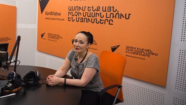 Асмик Абовян, архивное фото - Sputnik Таджикистан