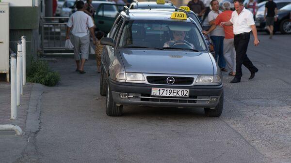Такси в Таджикистане, архивное фото - Sputnik Тоҷикистон