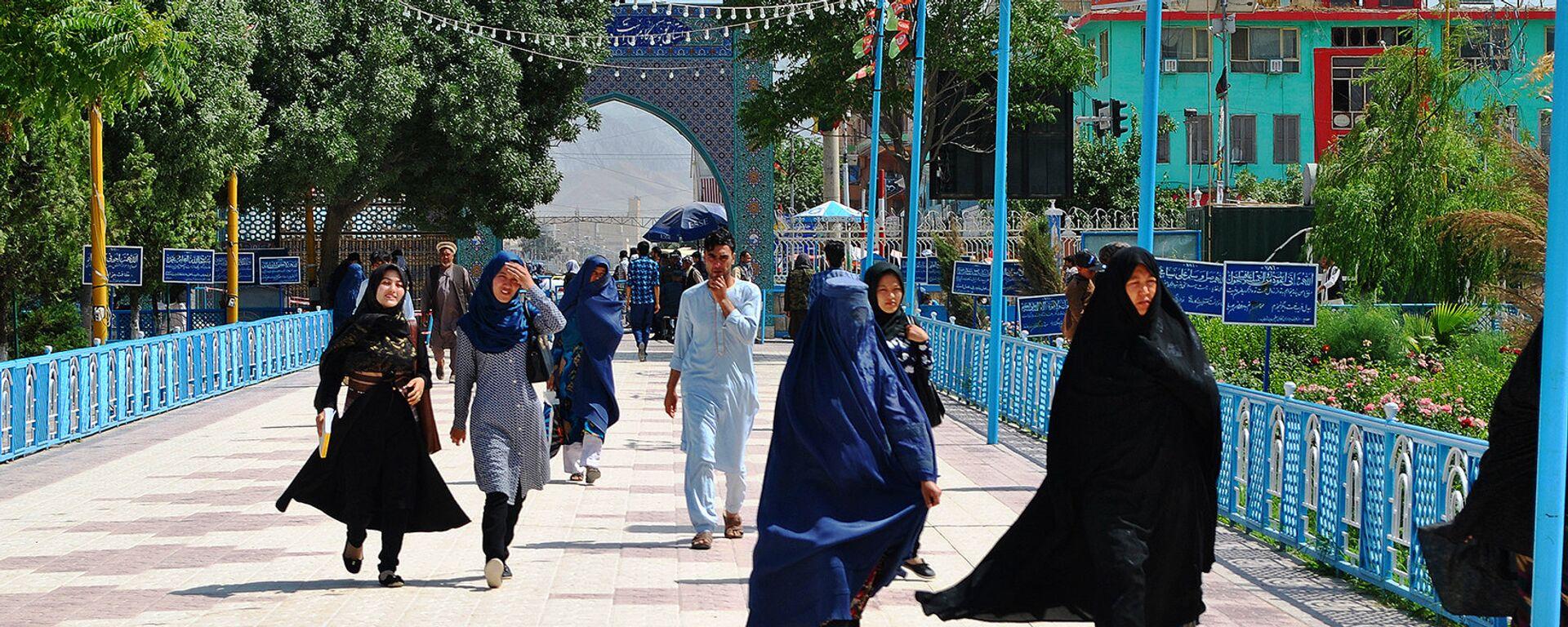 Женщины мусульманки, архивное фото - Sputnik Таджикистан, 1920, 19.08.2021