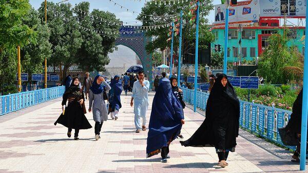 Женщины мусульманки, архивное фото - Sputnik Тоҷикистон