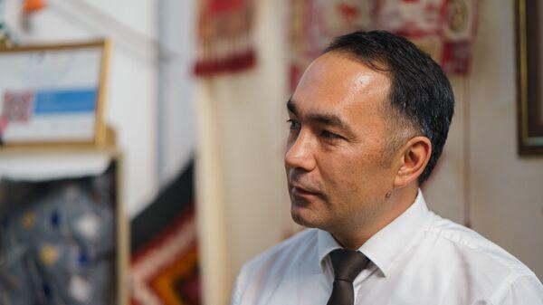 Исполнительный директор Зерафшанской Ассоциации Развития Туризма (АРТЗ) Таджикистана Джамшед Юсупов - Sputnik Таджикистан