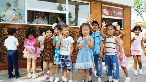 Дети, архивное фото - Sputnik Таджикистан