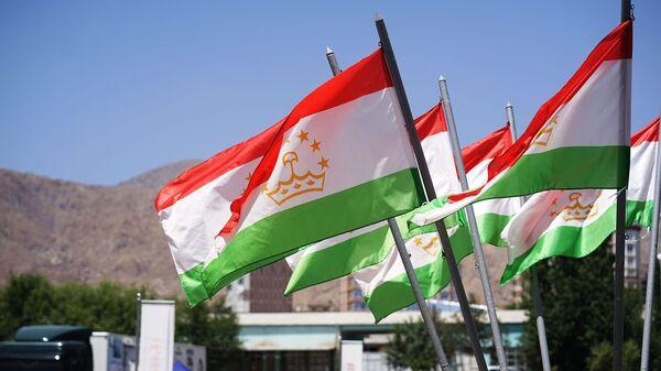 Флаги Таджикистана, архивное фото - Sputnik Таджикистан