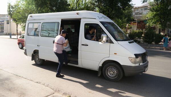 Общественный транспорт в городе Худжанд - Sputnik Тоҷикистон