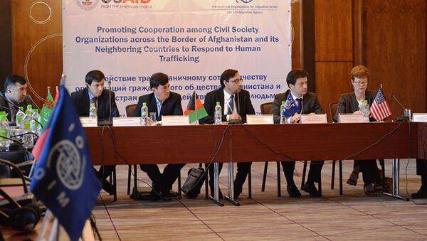 Форум южной и Центральной Азии по борьбе с торговлей людьми в Душанбе - Sputnik Тоҷикистон
