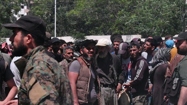 Боевики, архивное фото - Sputnik Таджикистан