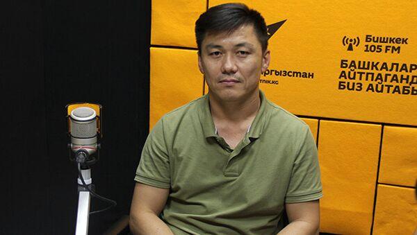 Мастер-тренер по доврачебной помощи Дуйшеев Замир - Sputnik Таджикистан