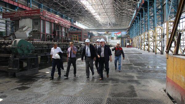 Государственное унитарное предприятие Таджикская алюминиевая компания ТАЛКО - Sputnik Таджикистан