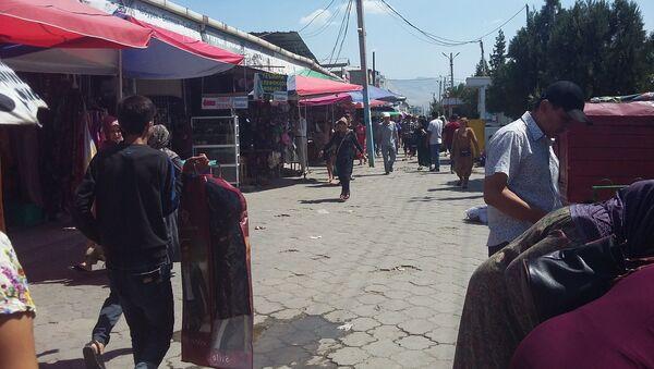Рынок в Душанбе Корвон - Sputnik Тоҷикистон