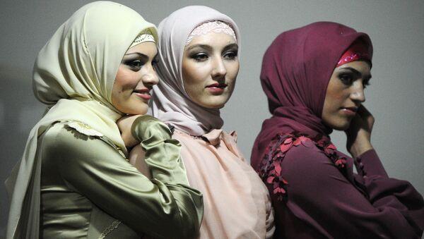 Девушки мусульманки, архивное фото - Sputnik Таджикистан