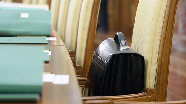 Портфель с документами, архивное фото - Sputnik Тоҷикистон