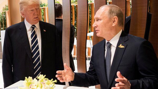 Путин и Трамп, архивное фото  - Sputnik Таджикистан